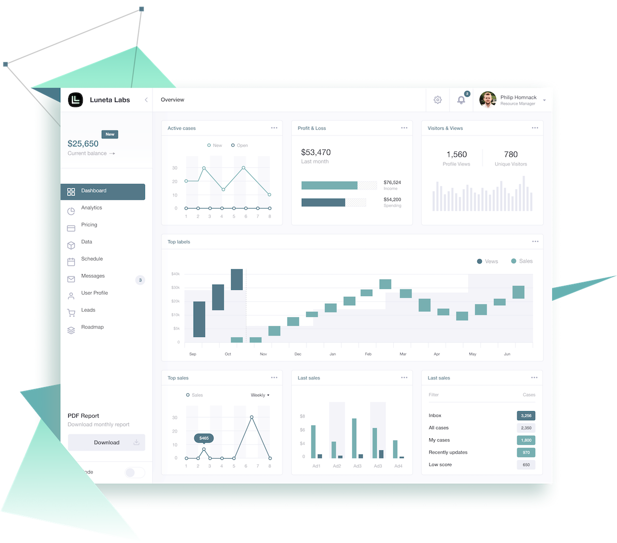 Ledger Investing Monitor